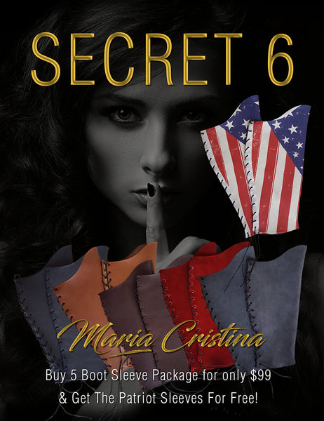 Secret 6 - 5 Boot Sleeve Package + The Patriot Free