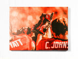 UGA Georgia Bulldogs Art: Football Teamwork Photographic Print / Fine Art Print / Canvas Wrap