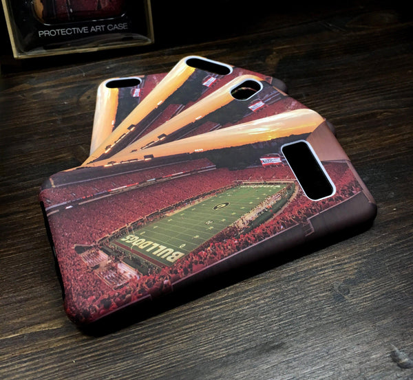 UGA Georgia Bulldogs: Phone Case - iPhone 6 / 7 / 8 / X & Galaxy S8 / S9 - Sanford Stadium Redout