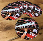 "UGA Georgia Bulldogs Sticker 6-Pack - Light Up Sanford Stadium- 2.75"" Circle Vinyl Photo Decals - Party Gifts for Graduation, Kids, Students & Alumni"