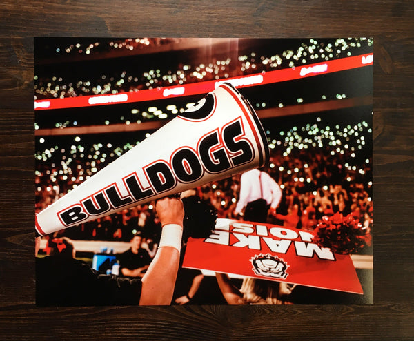 "UGA: ""Light up Sanford"" 2017 Stadium Photo Print / Canvas Wrap - Georgia Bulldogs Art"