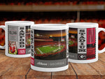 UGA Georgia Bulldogs Mug: Sanford Stadium Dawgs vs Notre Dame Victory Mug - 11oz Coffee Photo Mug - Gift & Home Decor