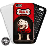 UGA Georgia Bulldogs: Phone Case - iPhone 6 / 7 / 8 / X / XS & Galaxy S8 - Uga's Dawg House Mascot