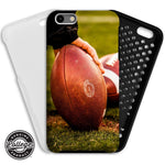 UGA Georgia Bulldogs: Phone Case - iPhone 6 / 7 / 8 / X & Galaxy S8 - Football Game Ball