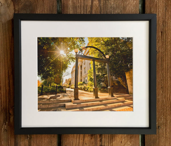 UGA Georgia Bulldogs Art: Campus Arch Photo Print / Fine Art Print / Canvas Wrap