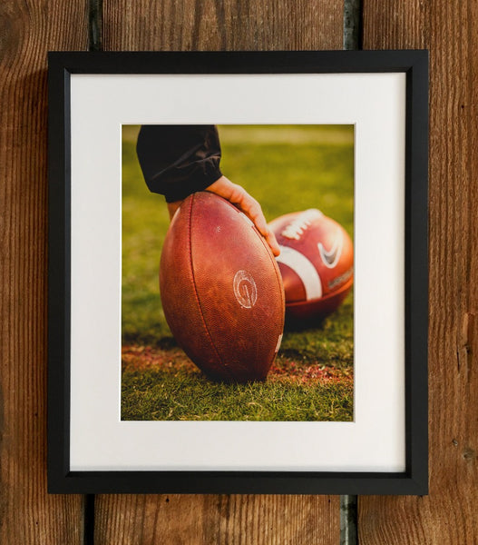 UGA: Football Game Ball Photo Print / Fine Art Print / Canvas Wrap - Georgia Bulldogs Art