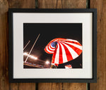 UGA Georgia Bulldogs Art: Stars & Stripes over Sanford Stadium Photo Print / Canvas Wrap