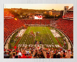 UGA Georgia Bulldogs Art: Saturday in Athens 2017 Sanford Stadium Photo Print / Canvas Wrap