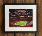 UGA Georgia Bulldogs Art: 2017 SEC Championship Kickoff Photo Print / Canvas Wrap