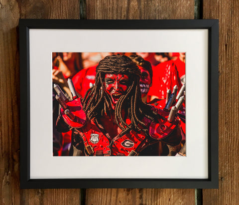 "UGA Georgia Bulldogs Art: ""Spike Squad"" Savage Photo Print / Canvas Wrap"