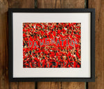 "UGA Georgia Bulldogs Art: ""Dawgnation"" Football Fans Photo Print / Canvas Wrap"