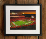 UGA Georgia Bulldogs Art: Dawgs vs Notre Dame 2019 Sanford Stadium Photo Print / Canvas Wrap