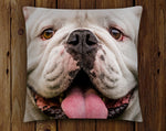 UGA: Georgia Bulldogs Uga X Mascot Closeup Throw Pillow - Indoor/Outdoor for Tailgate, Patio, Dawg Cave, Home Decor