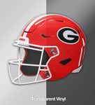 UGA Georgia Bulldogs Sticker - Football Helmet Die Cut Vinyl Photo Decal Gift
