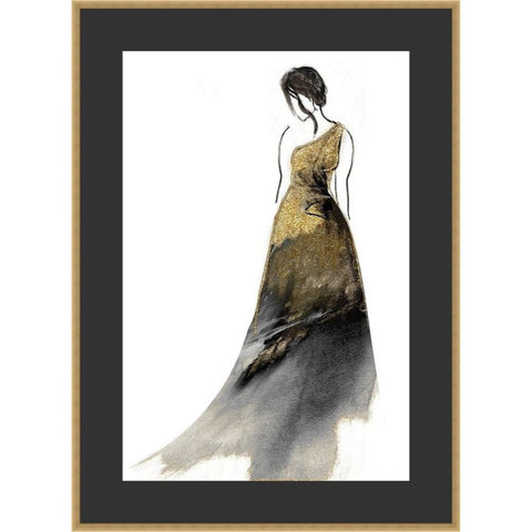 DRESS GLAM 36.5X26.5 FRAMED FINE ART PRINT
