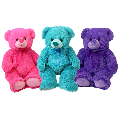 "12"" Cuddle Berry Bears, 3 Asst"