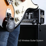 Xvive U2 Digital Wireless Guitar System 2.4GHZ | Rechargeable Wireless Transmitter & Receiver