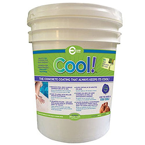 Cool Pool Deck Coating - For Up To 150 Square Feet