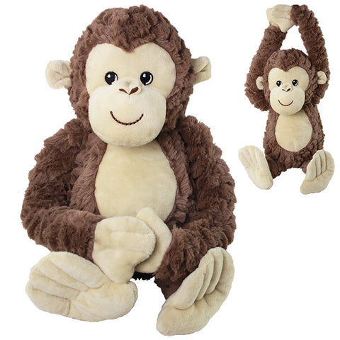 "10"" Softex Hanging Monkey"