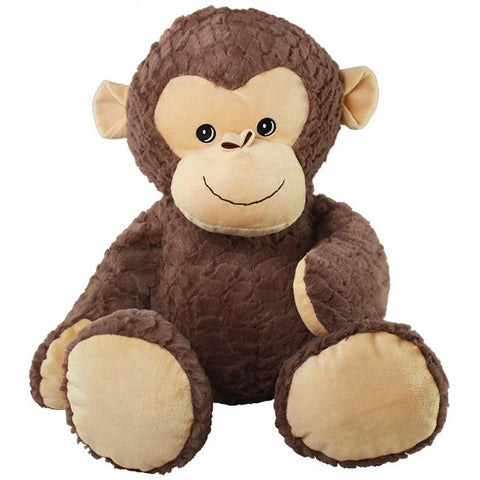 "Wishpets 25"" Softex Cuddle Monkey Embroidered Eyes"