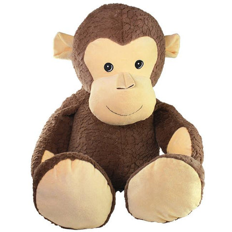 "Wishpets 44"" Softex Cuddle Monkey Embroidered Eyes"