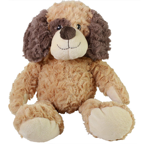 "10"" Sitting Softex Brown Dog"