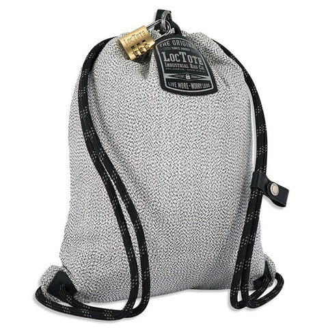 LocTote Flack Sack Sport | Theft Resistant Bag | World's Most Secure Travel Bag