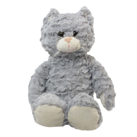 "10"" Softex Sitting Cat, Gray"