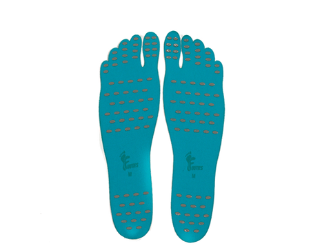Blue Pair of Fuuties Stick on Soles- M