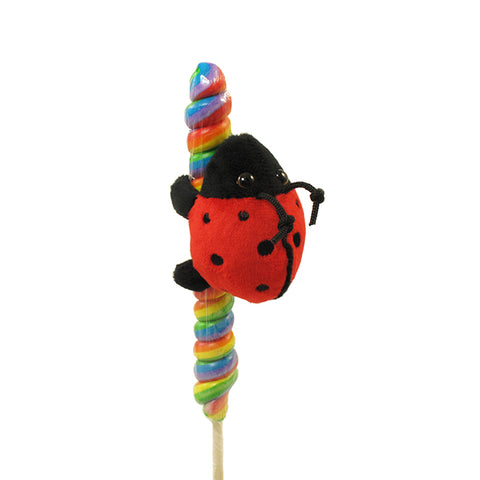 "3"" Ladybug with Candy Pop"