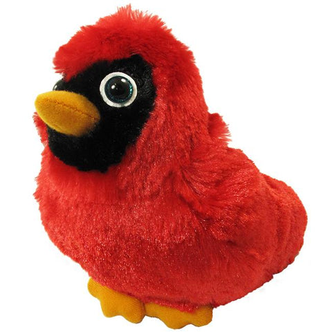 "Wishpets 6"" Backyard Birds Cardinal"