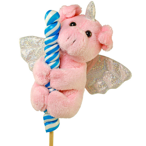 "5"" Flying Piggycorn on Candy Pop"
