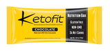 KETOFIT NUTRITION BARS, Macro Balanced for a Ketogenic Lifestyle (12 Pack)