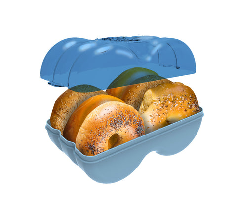 Bagel Fresh Container - Fresh Bagels Keeper & Airtight Storage