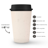 Circular&Co. NOW Cup (12oz) – Reusable Travel Mug Made from Recycled Coffee Cups, Insulated, BPA Free & Dishwasher Safe