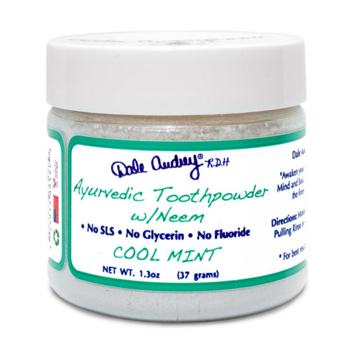 Ayurvedic Toothpowder, Mint 1.13oz