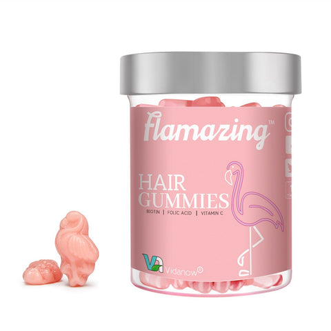 Flamazing Gummy Vitamins For Hair, Skin, and Nails (1 Month Supply)