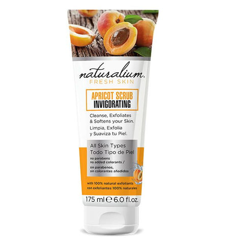 Natural Face Scrub by Naturalium - Apricot Scrub Tube