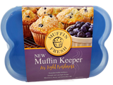 MUFFIN FRESH KEEPER CASES - HOLDS 6 FRESH MUFFINS & AIRTIGHT STORAGE