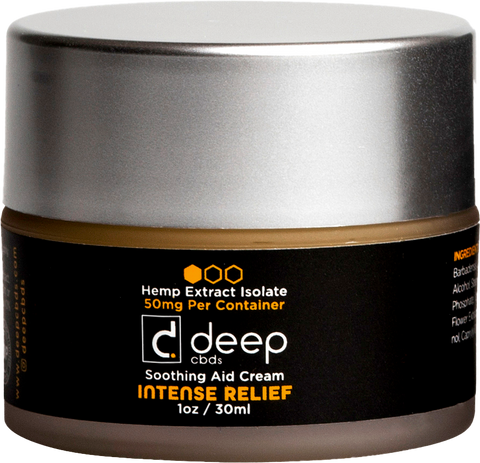 DeepCBDs Intense Relief Soothing Aid Cream