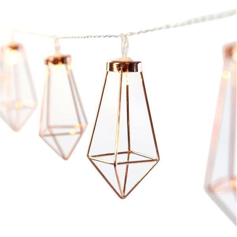 Cocus Pocus Rose Gold Fairy Lights