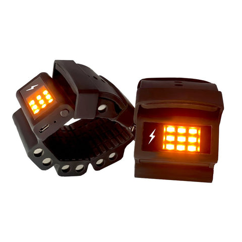 Tone-y-Bands Power Walker Wrist Weights with LED Lights