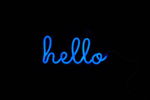 Cocus Pocus Hello LED Neon Sign