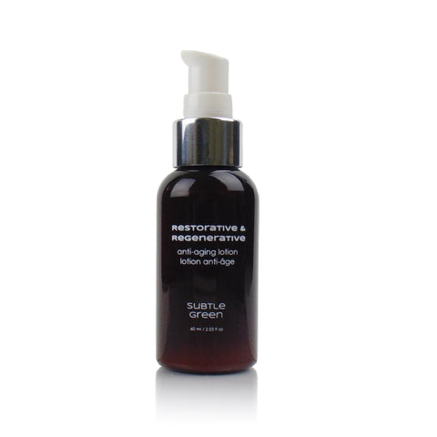 Restorative and Regenerative Anti-Aging Lotion