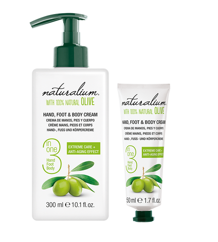Naturalium Hand, Foot, and Body Lotion - Olive