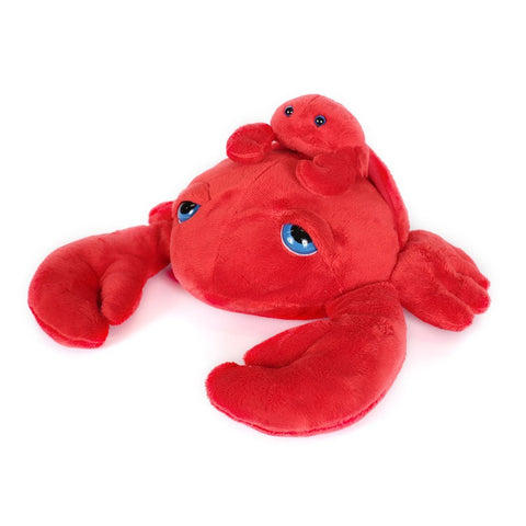 "Wishpets 10"" Pint-Sized Pals Crab with Baby Stuffed Plush Toy"
