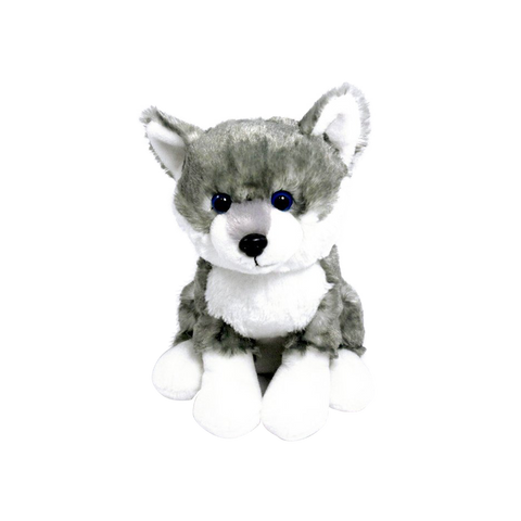 "Wishpets 8"" Husky Stuffed Plush Toy Animal"