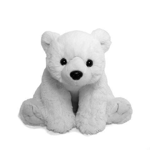 "Wishpets 12"" Floppy Polar Bear Stuffed Plush Toy"