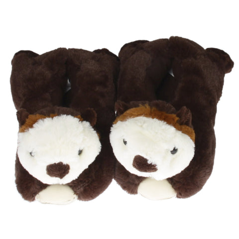 Wishpets Sea Otter Plush Slippers