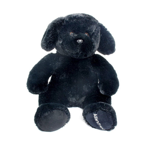 "Wishpets 14"" Floppy Black Labrador Stuffed Plush Toy"
